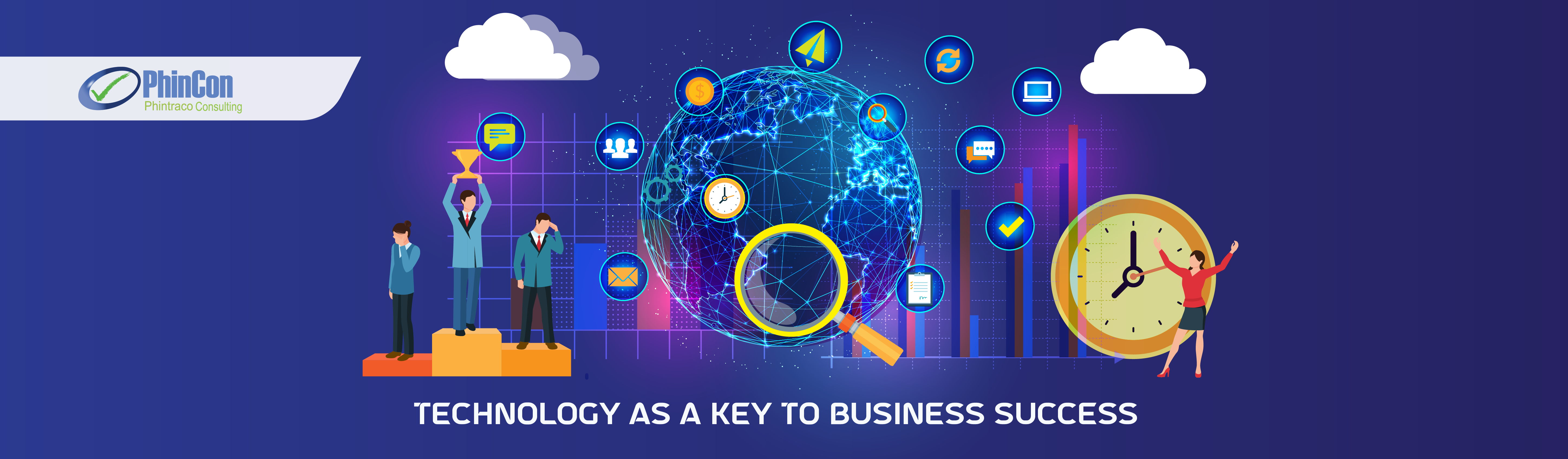 Technology as a Key to Business Success - PhinCon